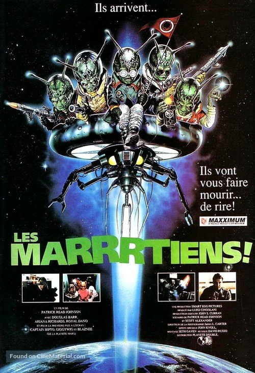 Spaced Invaders - French Movie Poster