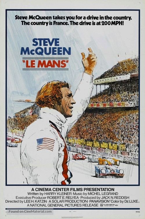 Le Mans - Movie Poster