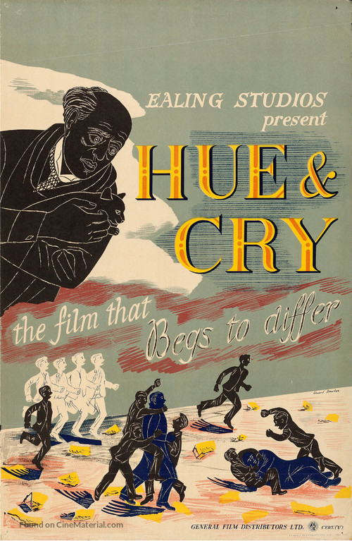 Hue and Cry - British Movie Poster