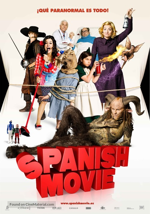 Spanish Movie - Spanish Movie Poster