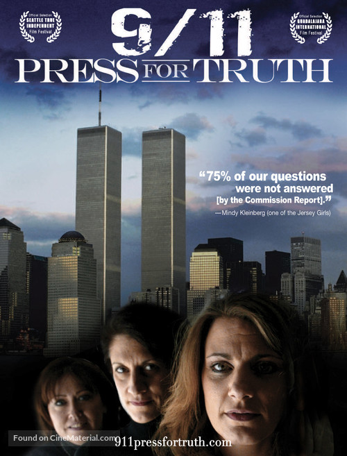 9/11: Press for Truth - Movie Poster