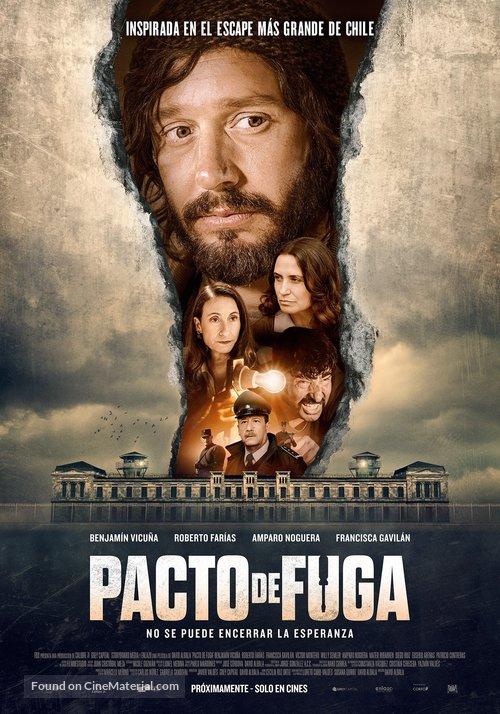 Pacto de Fuga - Chilean Movie Poster
