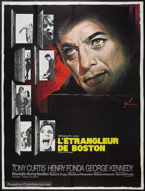 The Boston Strangler - French Movie Poster