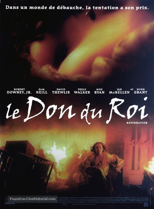 Restoration - French Movie Poster