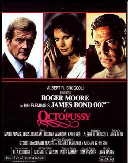 Octopussy - Movie Poster