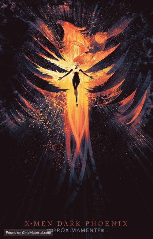 Dark Phoenix - Mexican Movie Poster