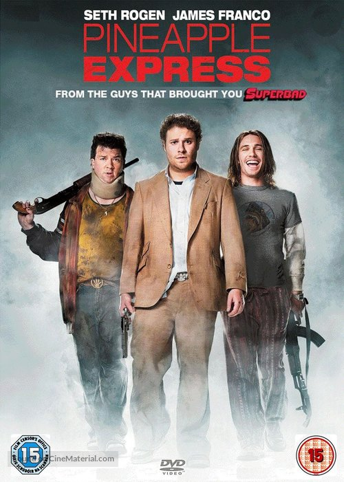 Pineapple Express - British Movie Cover