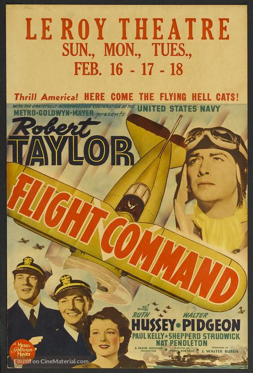 Flight Command - Movie Poster