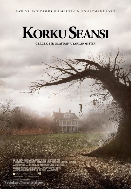 The Conjuring - Turkish Movie Poster