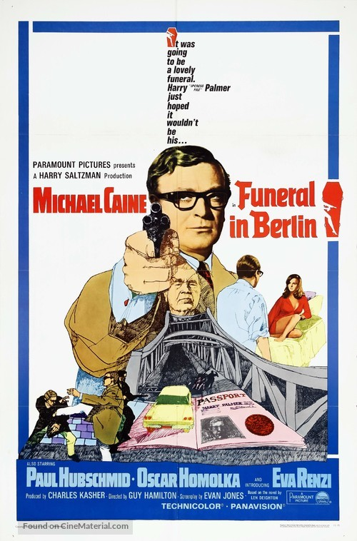 Funeral in Berlin - Movie Poster