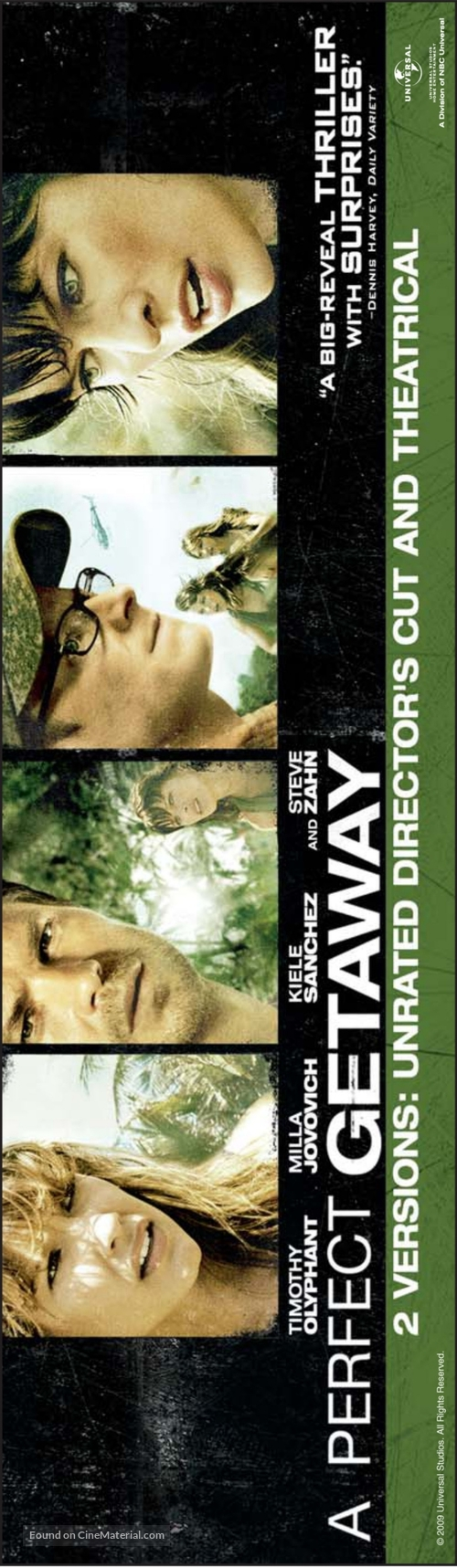 A Perfect Getaway - Movie Poster