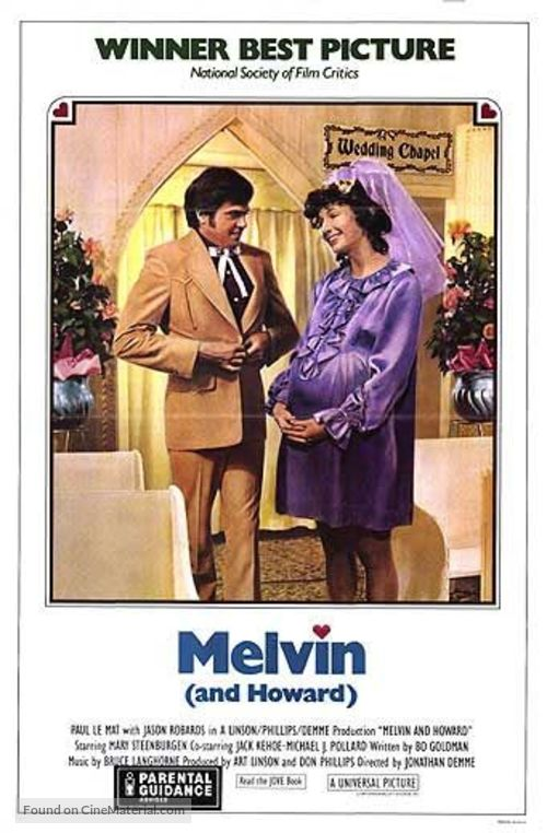 Melvin and Howard - Theatrical movie poster