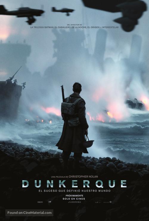 Dunkirk - Argentinian Movie Poster