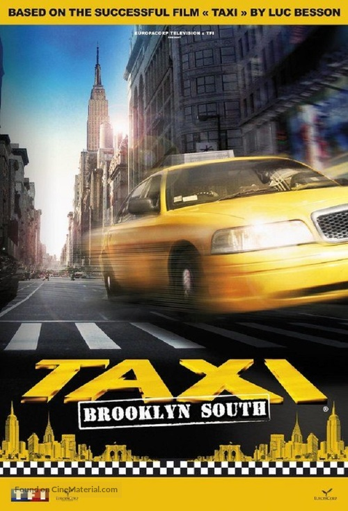 """""""Taxi Brooklyn"""" - French Movie Poster"""