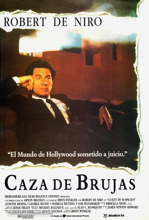 Guilty by Suspicion - Spanish Movie Poster