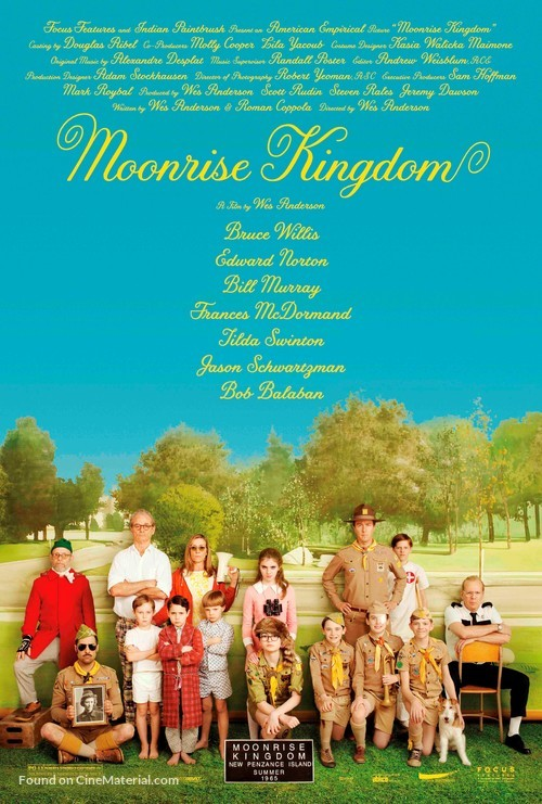 Moonrise Kingdom - Movie Poster
