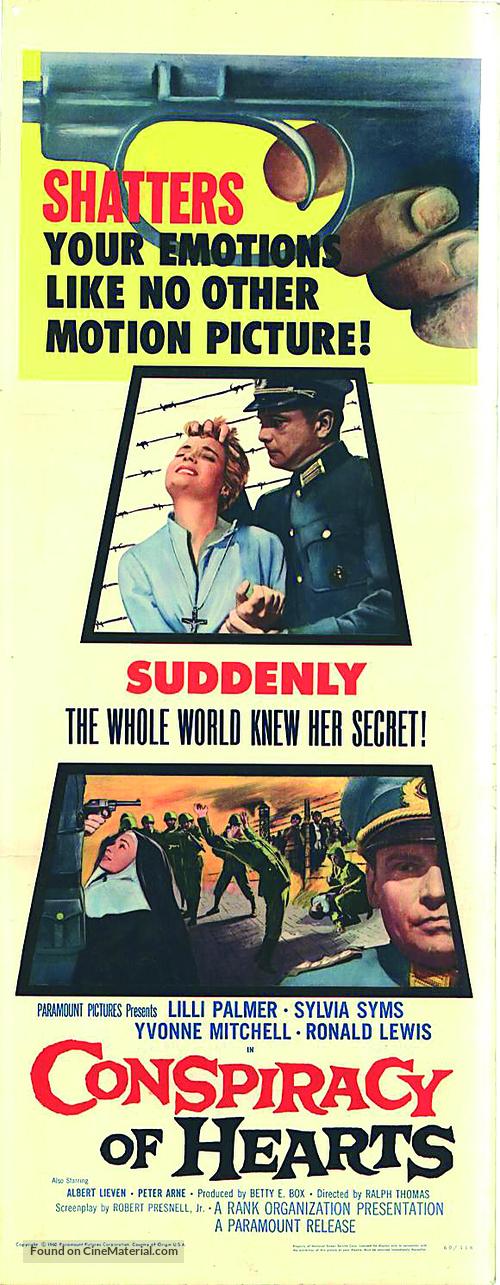 Conspiracy of Hearts - British Movie Poster