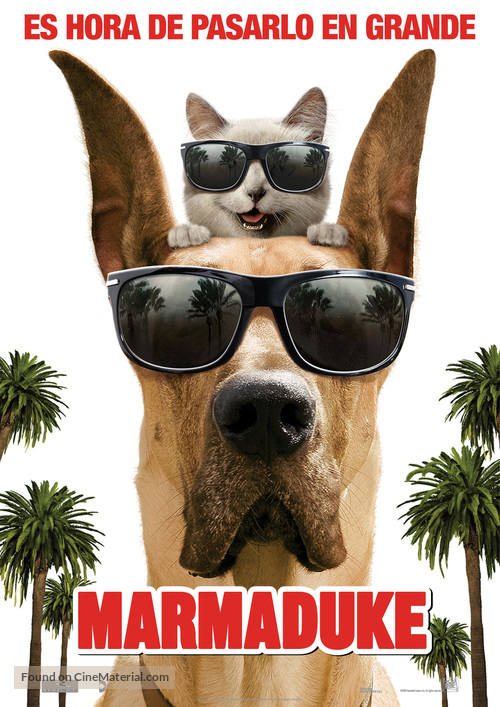 Marmaduke - Spanish Movie Poster