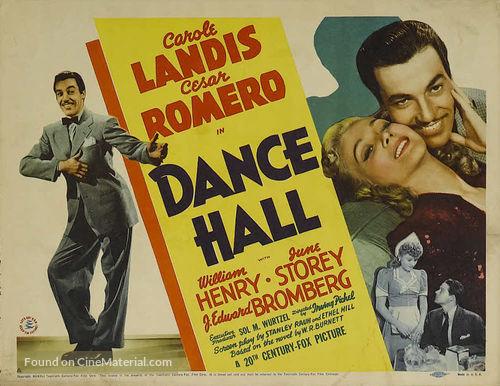 Dance Hall - Movie Poster