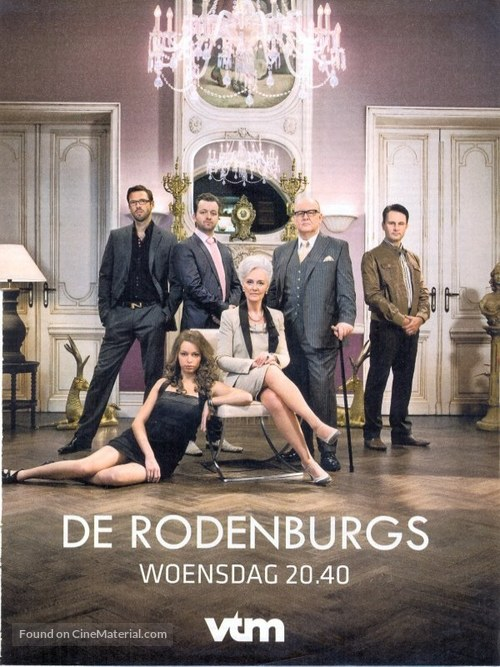 """De Rodenburgs"" - Belgian Movie Poster"