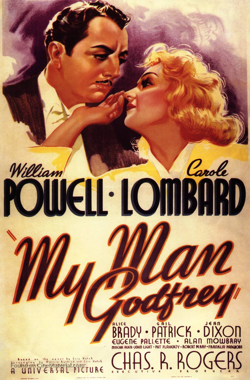 My Man Godfrey - Movie Poster