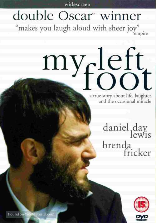 My Left Foot - British Movie Cover