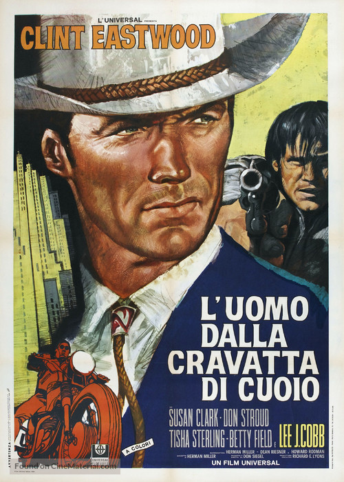 Coogan's Bluff - Italian Movie Poster