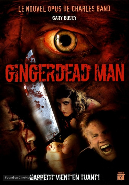 The Gingerdead Man - French Movie Poster