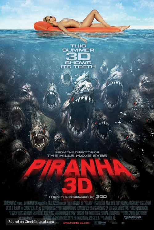 Piranha - Movie Poster