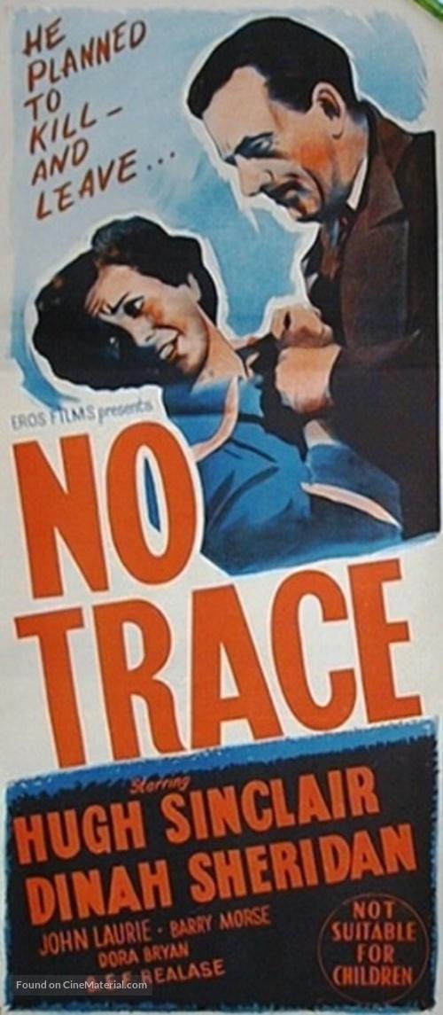 No Trace - Australian Movie Poster