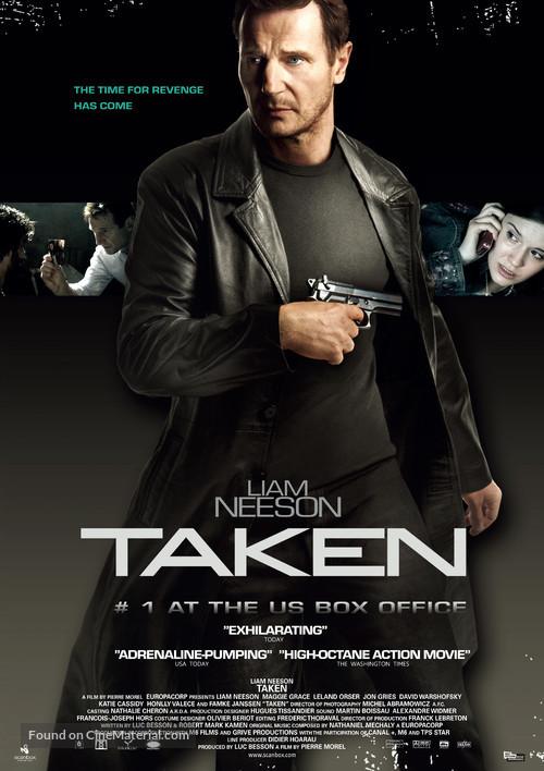 Taken - Swedish Movie Poster