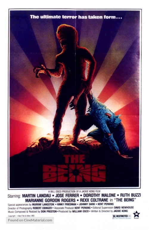 The Being - Movie Poster