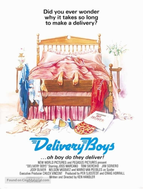 Delivery Boys - Movie Poster