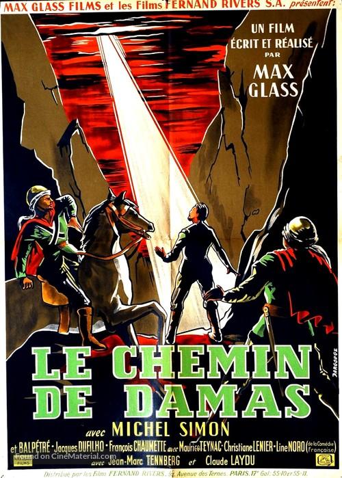 Le chemin de Damas - French Movie Poster