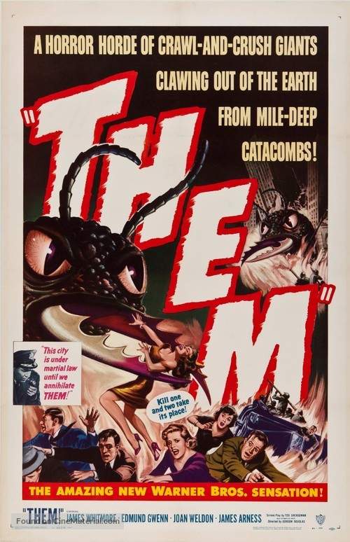 Them! - Theatrical movie poster