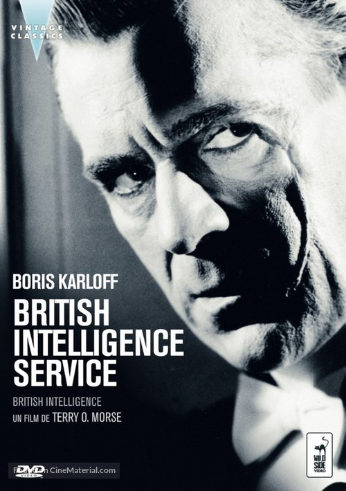 British Intelligence - French Movie Cover