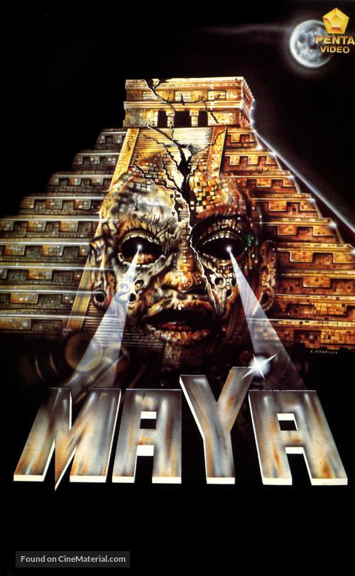 Maya - Italian VHS cover