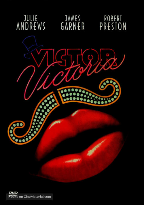 Victor/Victoria - DVD movie cover