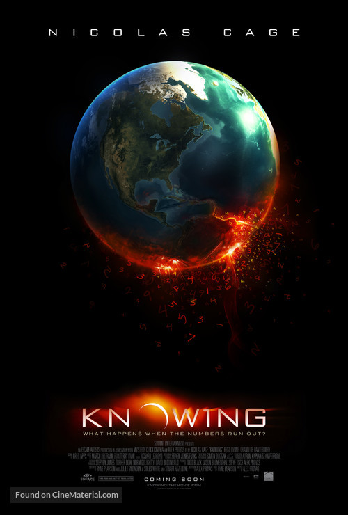 Knowing - Movie Poster