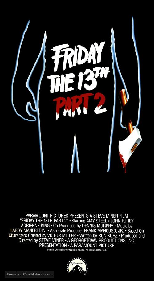 Friday the 13th Part 2 - Movie Poster