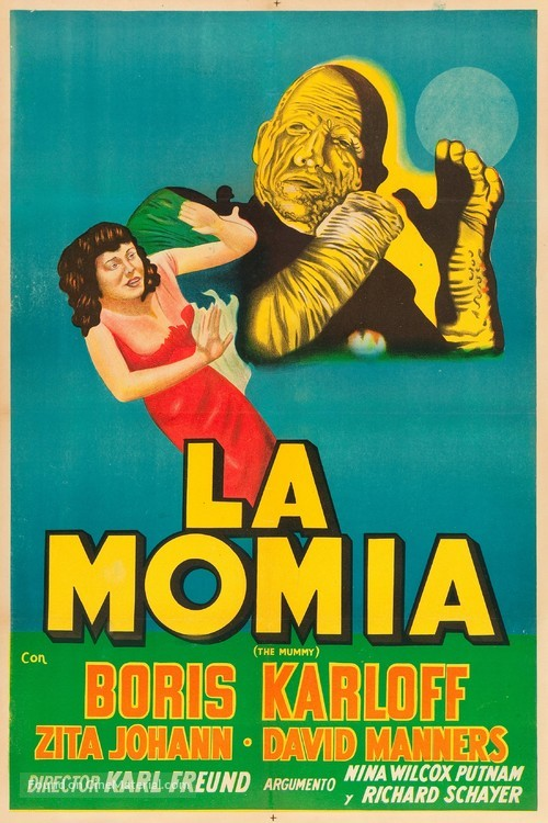 The Mummy - Argentinian Movie Poster