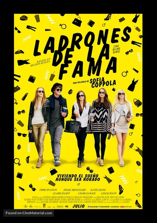 The Bling Ring - Mexican Movie Poster