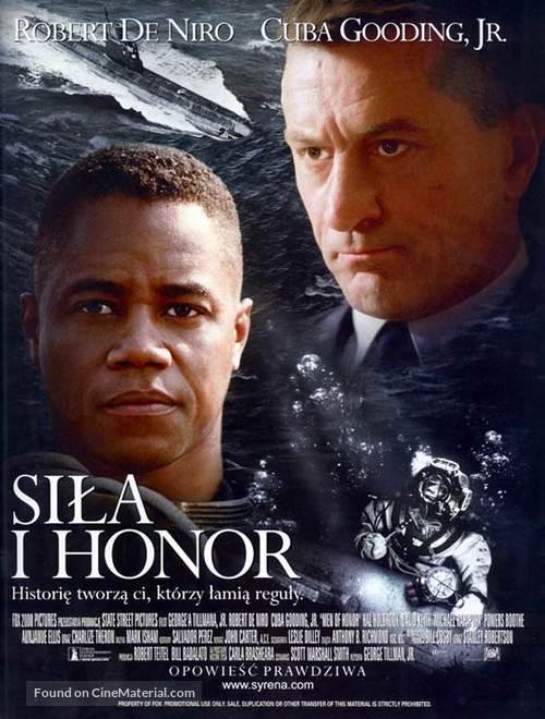 Men Of Honor - Polish Movie Poster