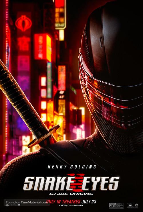 Snake Eyes: G.I. Joe Origins - Movie Poster