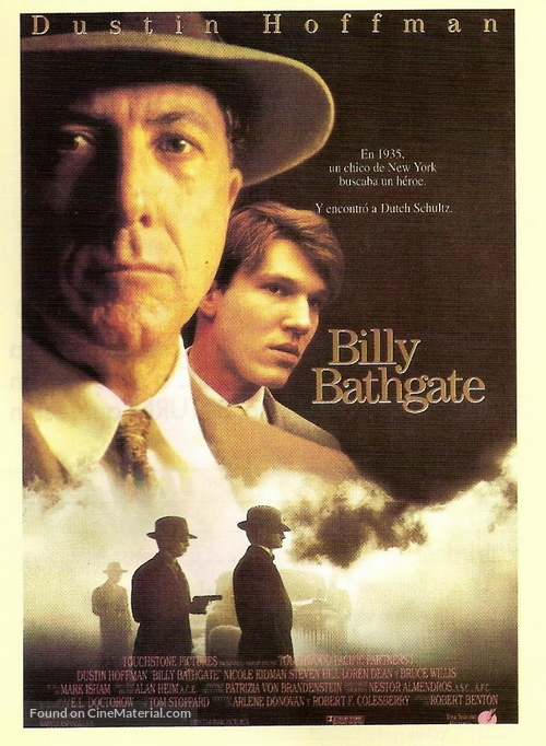 Billy Bathgate - Spanish Movie Poster