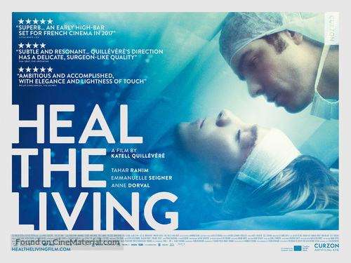 Réparer les vivants - British Movie Poster
