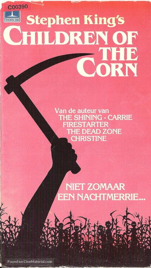 Children of the Corn - Dutch Movie Cover