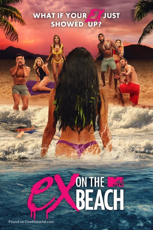 """""""Ex on the Beach"""" - Video on demand movie cover"""