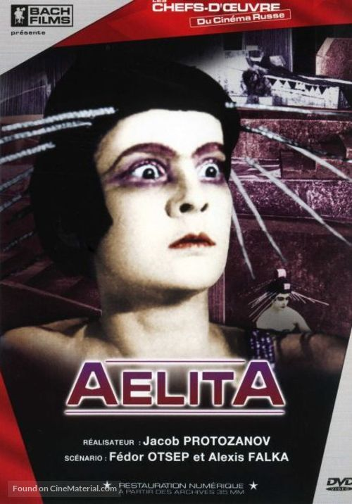 Aelita - French Movie Cover