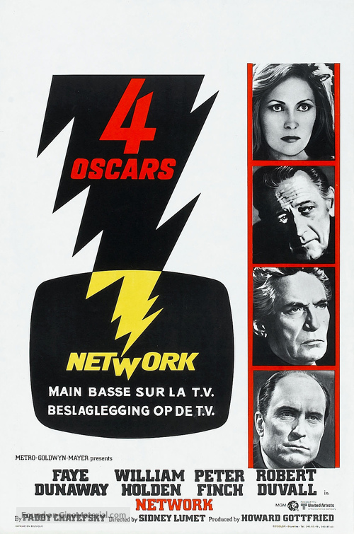 NETWORK Movie Poster 1976